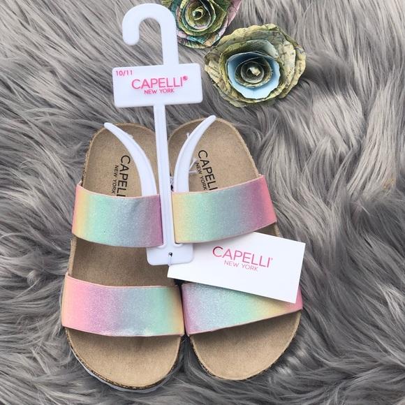 Kids Cork Bottom Slide Sandals | Poshmark